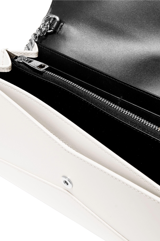 Alexander McQueen Sac porté épaule en cuir à cristal Pin
