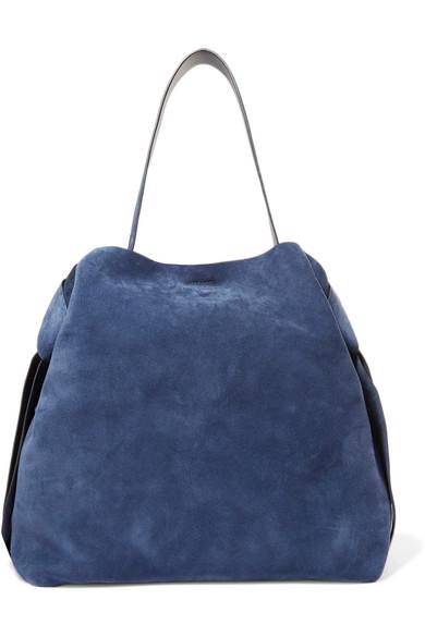 Acne Studios Shoulder-bags Musubi Maxi knotted suede shoulder bag