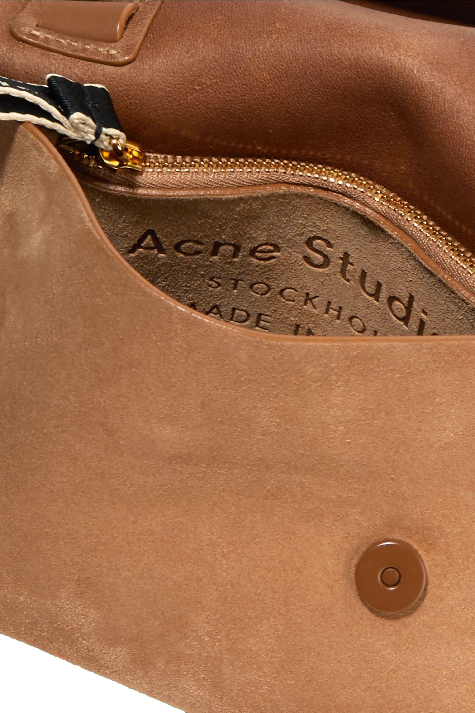 Acne Studios Musubi Milli small knotted suede shoulder bag