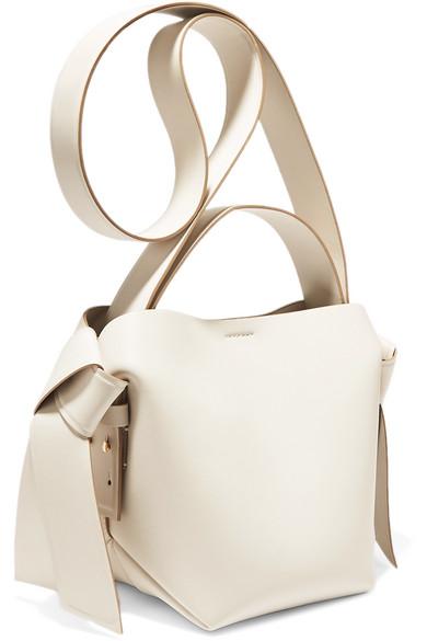 Acne Studios Shoulder Musubi Mini knotted leather shoulder bag