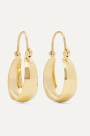 Mini Hammock 14-karat gold earrings