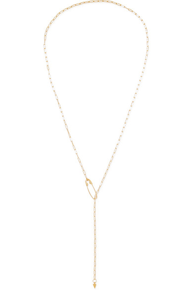 LOREN STEWART Shapeshifter 14-Karat Gold Necklace