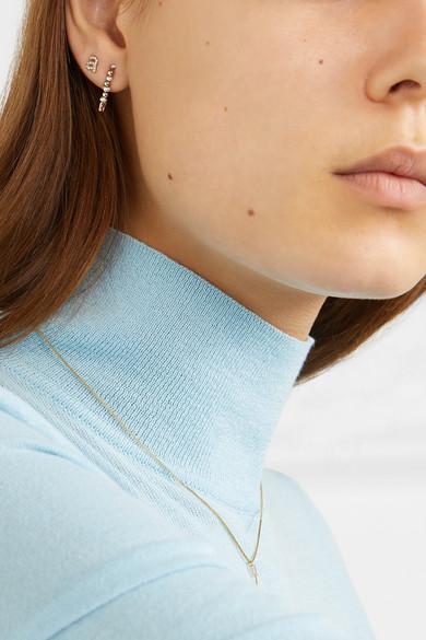 6542a53eafd42 Loren Stewart | 14-karat gold pearl earring | NET-A-PORTER.COM