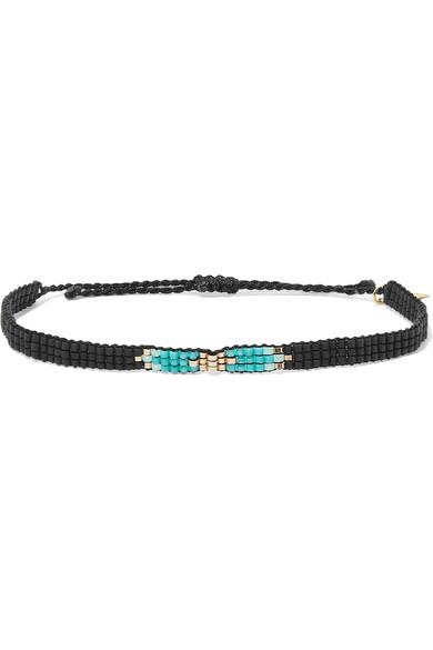 LOREN STEWART Pendleton Beaded Bracelet in Blue