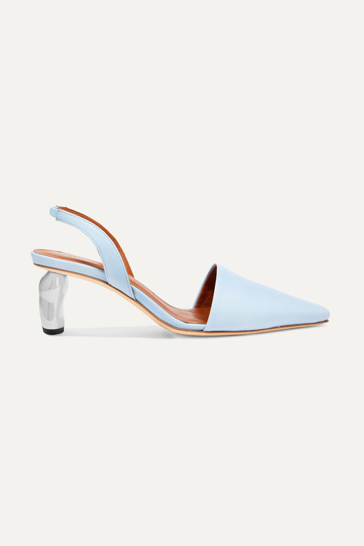 designer slingback heels