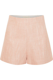 Vanessa Bruno Huguet herringbone tweed shorts