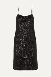 Sparkling Nights sequined tulle dress
