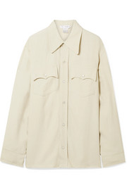TRE by Natalie Ratabesi The Manson crepe de chine shirt
