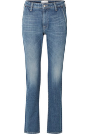 TRE by Natalie Ratabesi The Rhonda mid-rise straight-leg jeans