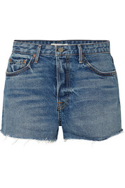 Cindy distressed denim shorts