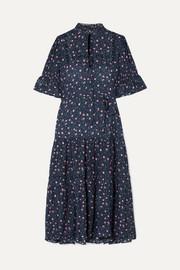 3020fa2cfd APIECE APART - Los Altos tie-waist floral-print voile midi dress
