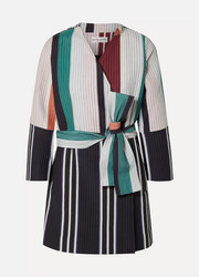 APIECE APART Boro colorblock quilted cotton and silk-blend jacket
