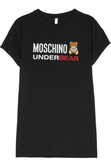 printed-stretch-cotton-jersey-dress by moschino