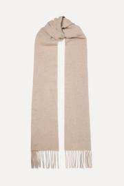 아크네 스튜디오 캐나다 스키니 프린지 울 스카프 에크루 Acne Studios Canada Skinny fringed wool scarf