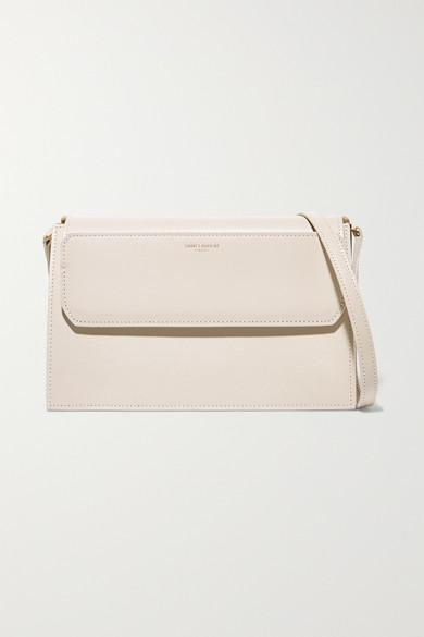 Catherine Leather Shoulder Bag by Saint Laurent