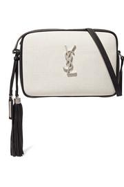 생 로랑 Saint Laurent Lou canvas and leather shoulder bag