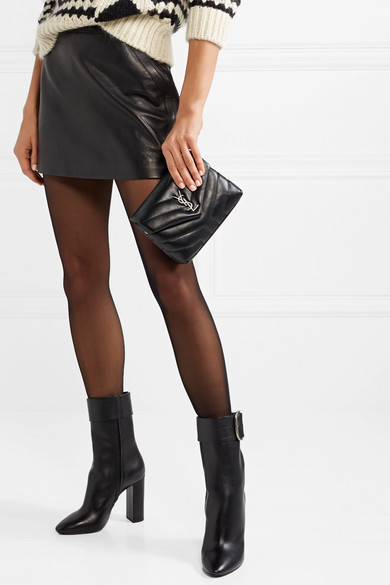 c228b32e5c4 SAINT LAURENT. Loulou Toy quilted leather shoulder bag. $1,190.00. Zoom In
