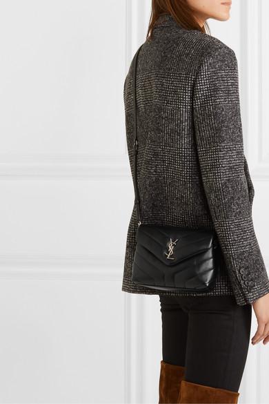 de4a1a1a9ba SAINT LAURENT | Loulou Toy quilted leather shoulder bag | NET-A ...