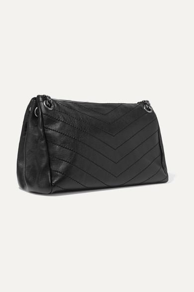 1eed696307bf Saint Laurent. Nolita large quilted leather shoulder bag