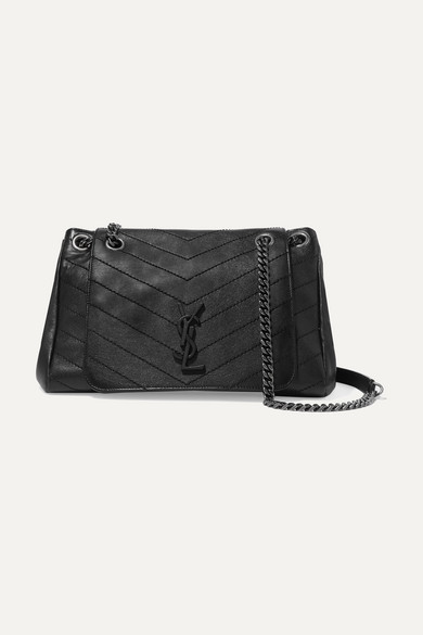 5708f1ecb5 SAINT LAURENT | Nolita large quilted leather shoulder bag | NET-A-PORTER.COM
