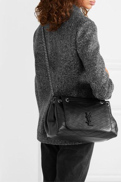 207d3a85764b SAINT LAURENT | Nolita large quilted leather shoulder bag | NET-A ...