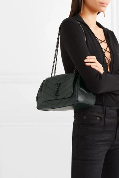 Saint Laurent Nolita Medium Quilted Leather Shoulder Bag