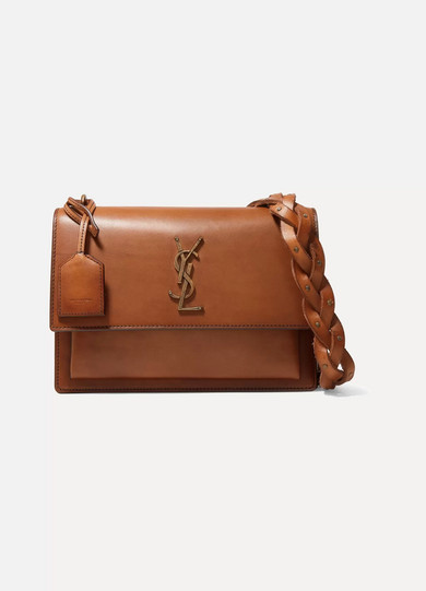 cd816f6ee602 SAINT LAURENT. Sunset medium leather shoulder bag