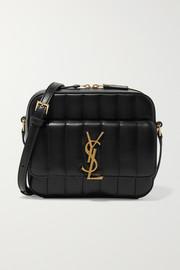 생 로랑 Saint Laurent Vicky quilted leather camera bag