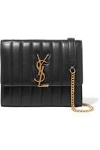 8b44710844d9 Saint Laurent Vicky quilted leather shoulder bag