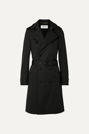SAINT LAURENT Woven trench coat