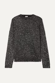 Saint Laurent Pullover aus Stretch-Strick mit Pailletten