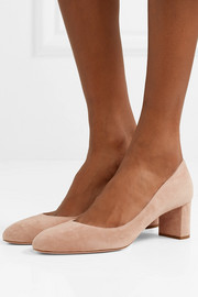 Prada 55 suede pumps