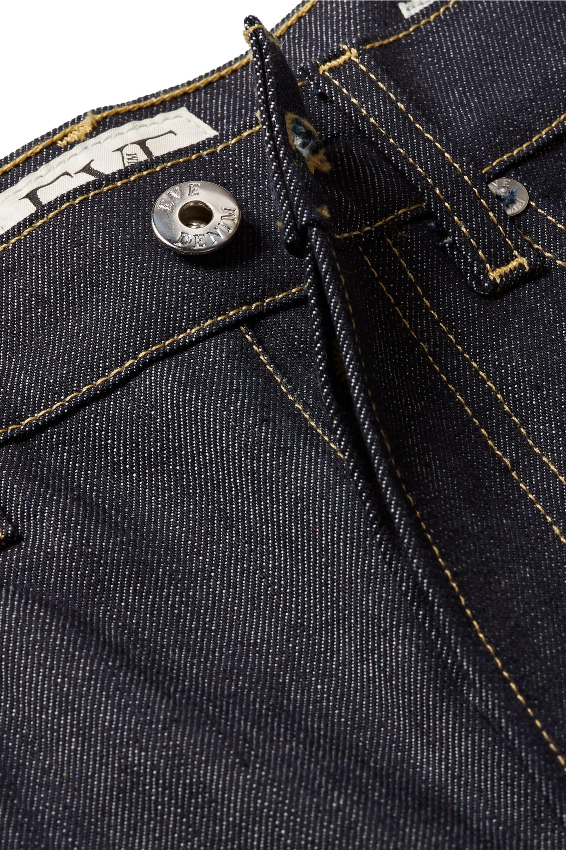 EVE Denim Silver Bullet high-rise straight-leg jeans