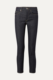 EVE Denim Silver Bullet high-rise straight-leg jeans