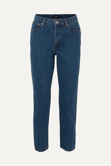 Mid Rise Straight Leg Jeans by A.P.C. Atelier De Production Et De Création