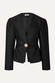 REJINA PYO Peyton wool and silk-blend blazer