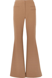 Ashley wool-blend flared pants