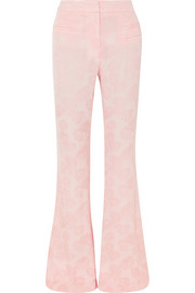 REJINA PYO Ashley jacquard flared pants