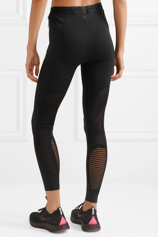 Nike + Matthew Williams NikeLab mesh-paneled stretch leggings