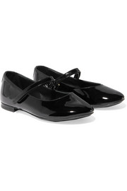 Size 19 - 26 patent-leather ballet flats