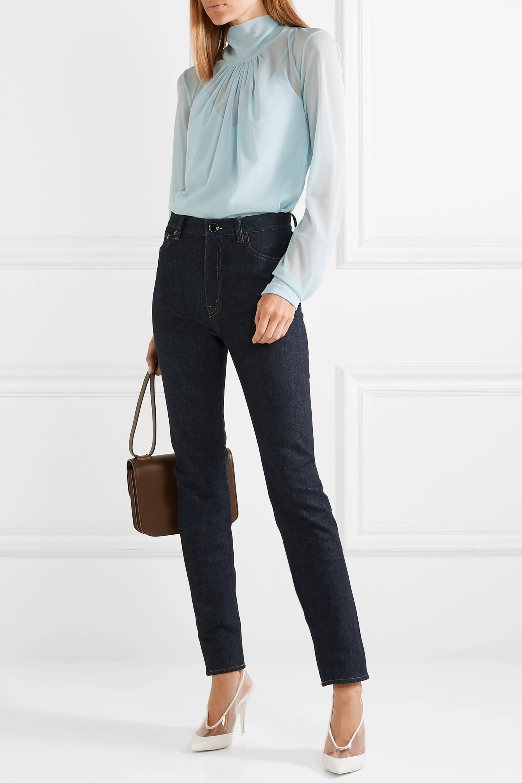 Victoria Beckham Jean slim taille haute
