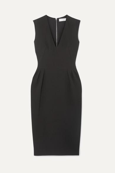 Crepe Midi Dress by Victoria Beckham