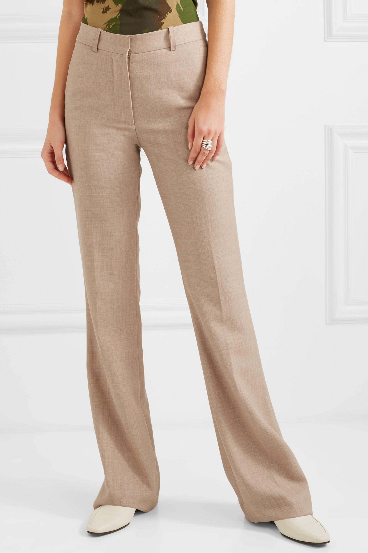 Victoria Beckham Wool flared pants