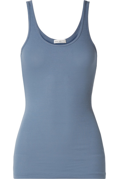 4026b03a560592 James Perse. The Daily ribbed stretch-Supima cotton tank