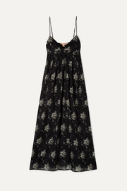 Brock Collection Ornella floral-print cotton-voile midi dress