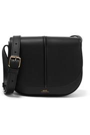 아페쎄 베티백, 가죽 숄더백 - 블랙 A.P.C. Betty leather shoulder bag