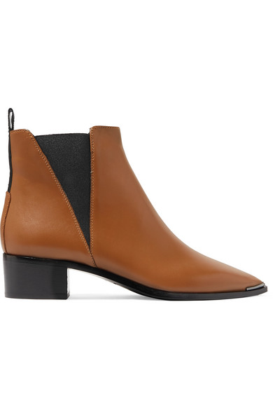 Jensen Leather Ankle Boots by Acne Studios