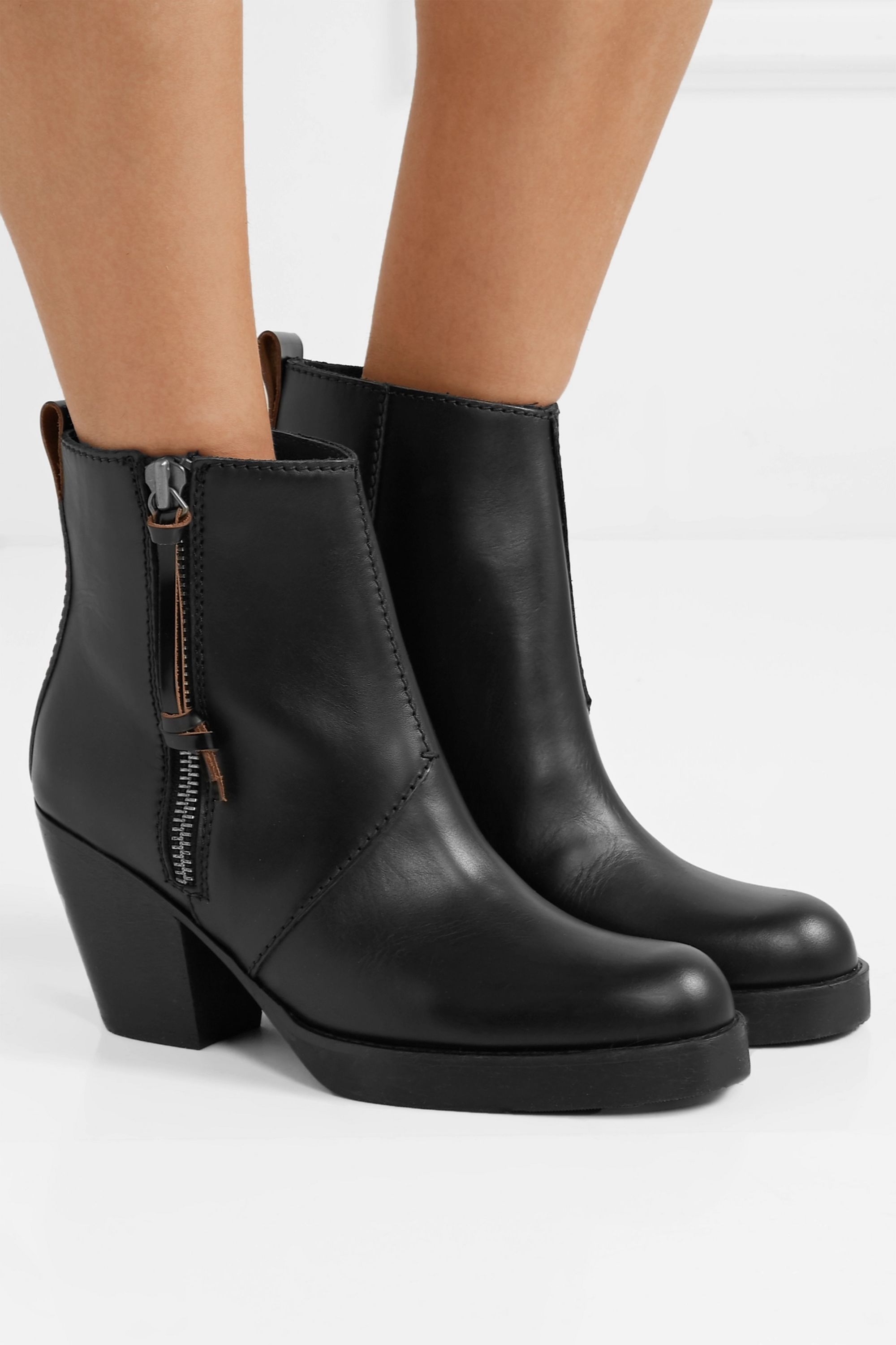 Black Pistol leather boots | Sale up to