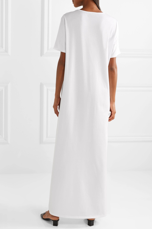 The Row Rory cotton-jersey maxi dress