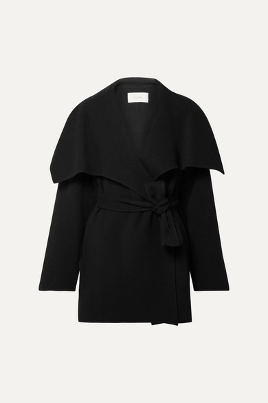 Disa Oversized Wool Blend Felt Jacket by The Row